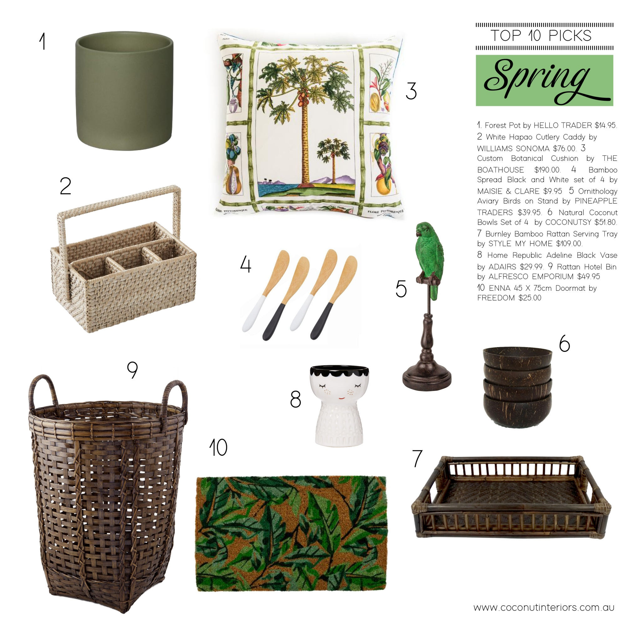 My Top 10 Spring Decor Picks