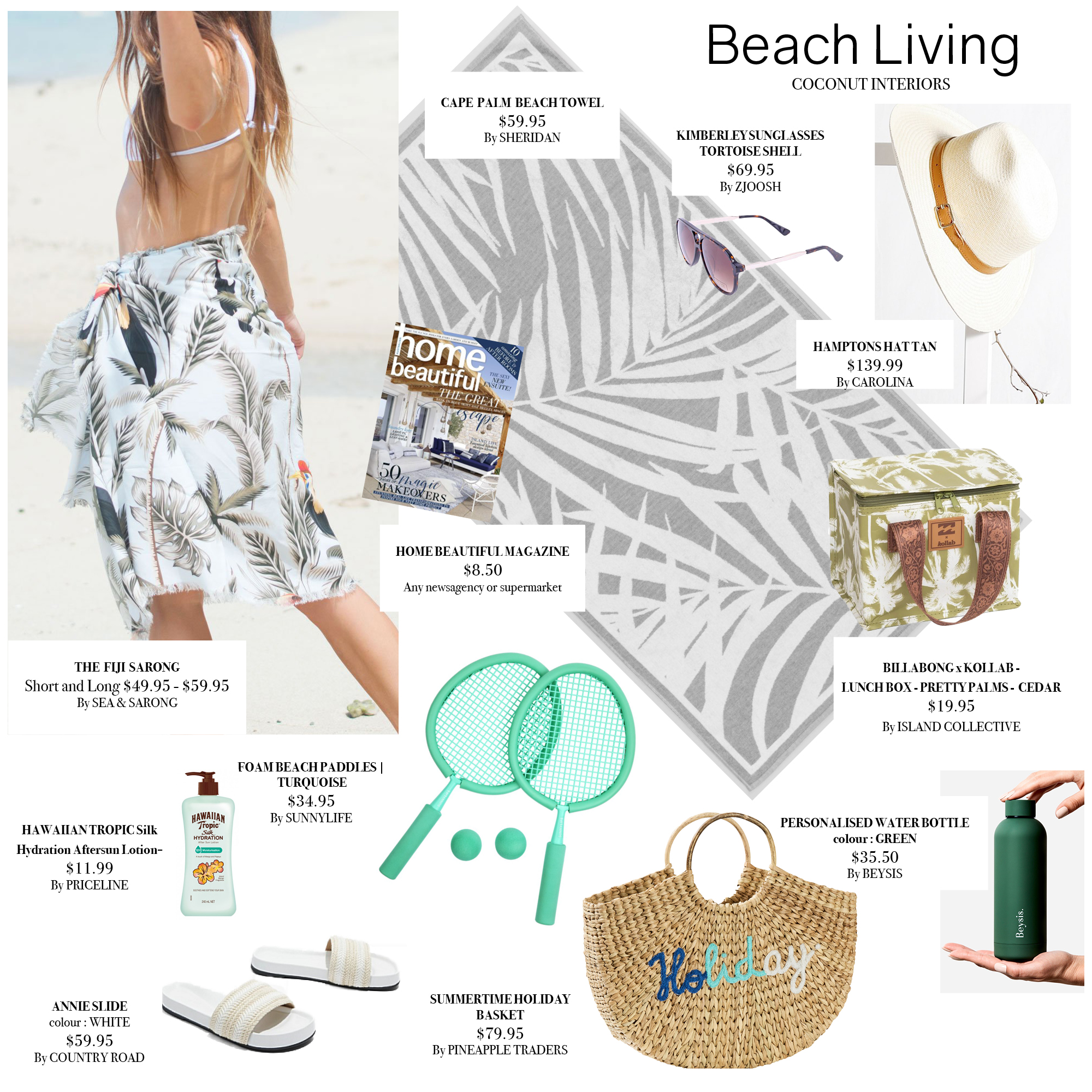 beach living MOODBOARD
